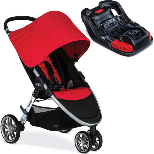 Britax B-Agile 3 Stroller with BONUS Car Seat Base