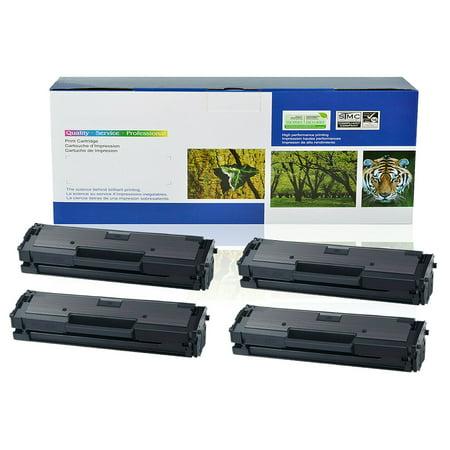 4PK MLT-D111S Toner Fit for Samsung Xpress M2070FW M2070W M2020W Printer w/Chip