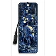 Wolf Pack Bookmark by Artgame - BK78WOL