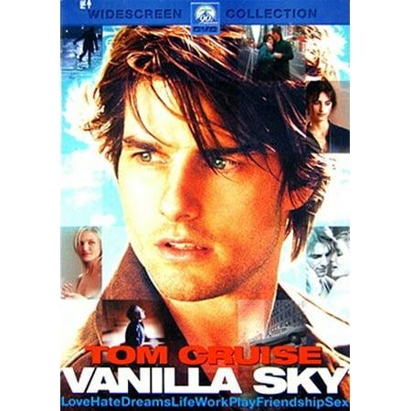 Vanilla Sky (DVD) - Halloween Films On Sky 2017