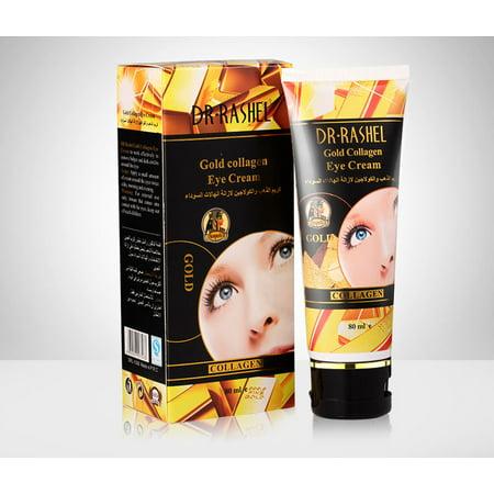 DR.RASHEL Gold Collagen Eye Cream Remove Wrinkles Dark Circles Eye Bags 80 ML ()