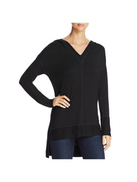 Hooded High-Low Tunic