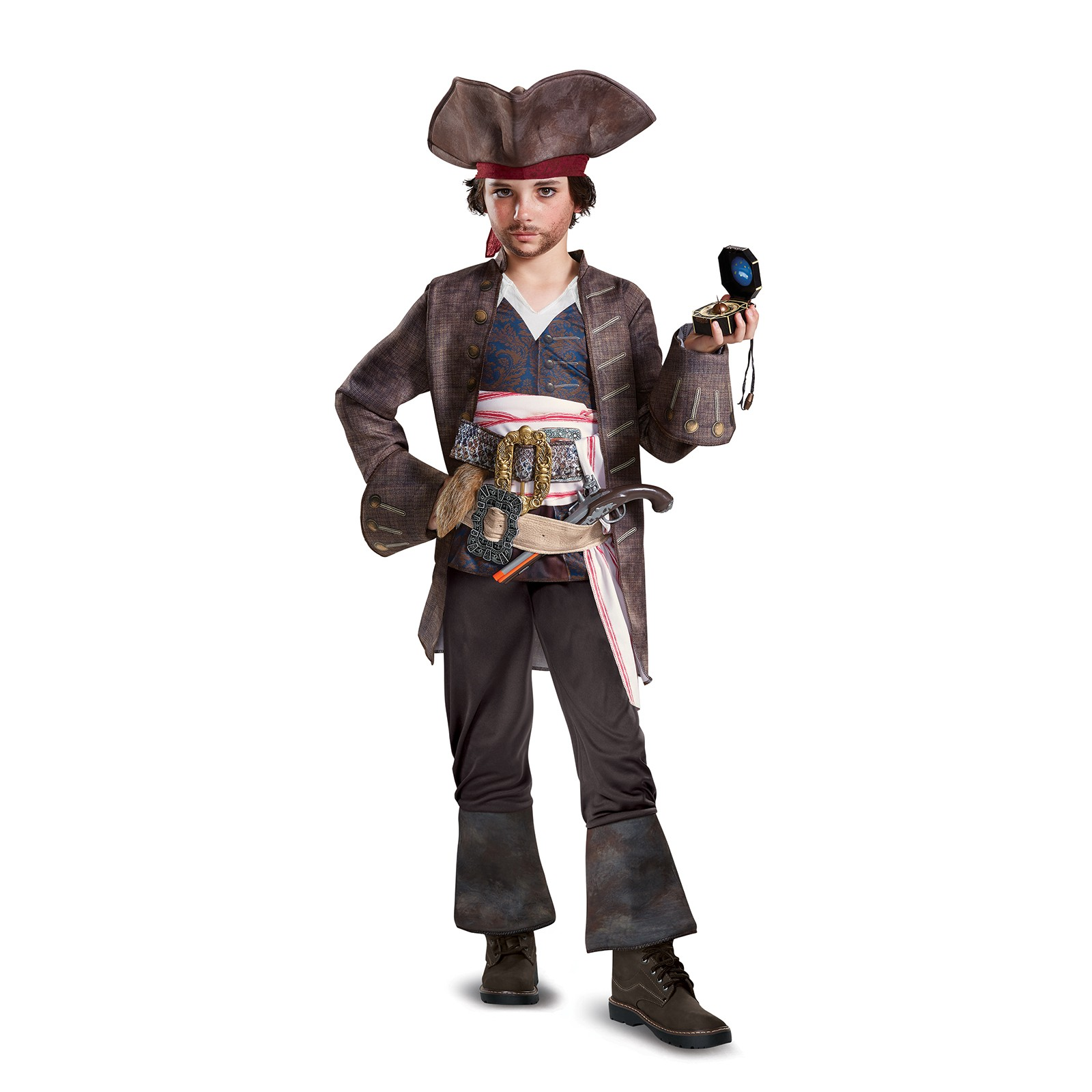 Pirates of the Caribbean 5: Captain Jack Deluxe Child Costume by DISG