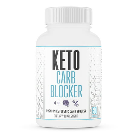 Max Strength Keto Carb Blocker 1200mg – Block the Absorption of Carbs – Minimize Cheat Meals & Maintain Ketosis – for Men & Women - Made in USA - 60 Capsules