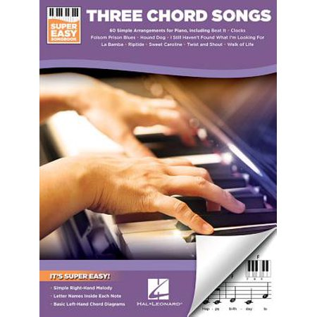 Three Chord Songs - Super Easy Songbook - Super Simple Songs For Halloween