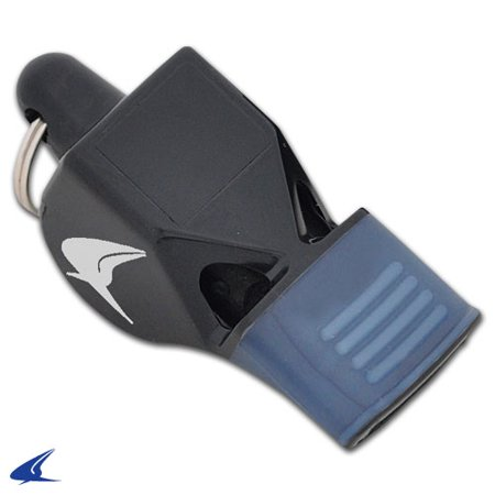 CHAMPRO Basketball Officials' Whistle with Mouth Cushion and Lanyard - Basketball Whistle