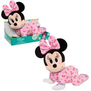 Disney Baby Musical Crawling Pals Plush, Minnie, Ages 0+