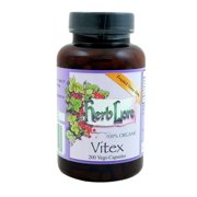 Herb Lore Organic Vitex (Chasteberry) – 200 Vegi-Capsules