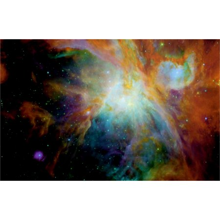 Black Light Reactive Orion Nebula Outer Space Poster](Black Light Reactive)