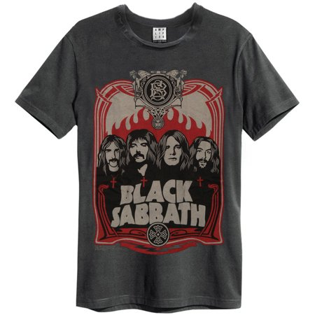 Black Sabbath Black Sabbath Mens Fairey Slim Fit T Shirt Charcoal