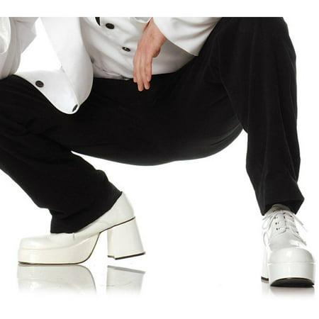 Halloween Shoes (Pimp Adult Shoes, White Halloween Costume)