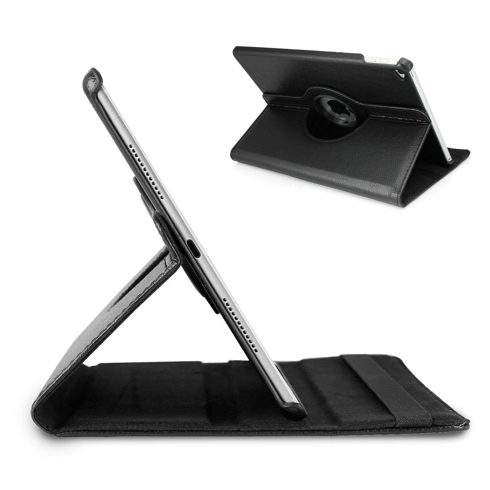 LivEditor Apple iPad 360 Degree Rotating Stand Case with Auto sleep and wake Function CA - image 1 of 4
