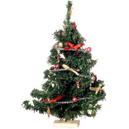 Dollhouse Xmas Tree Dec W/Ornaments ()