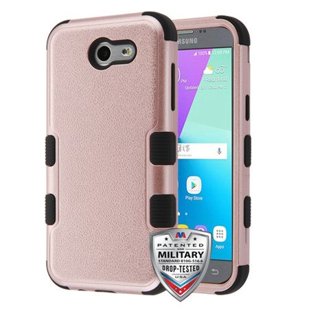 For Samsung Galaxy J3 Emerge/J3 Natural TUFF Hybrid Phone Armor Protector Cover