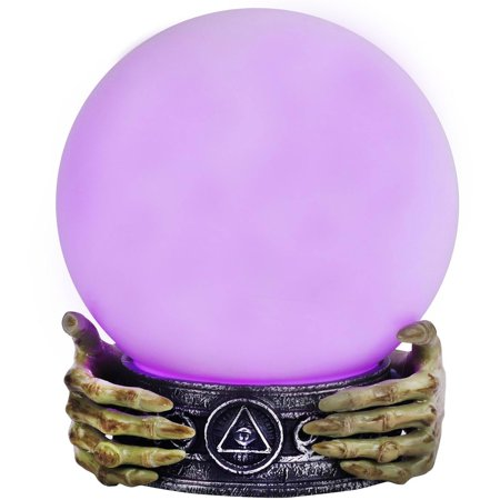 Magic-Light-Orb - Light Up Halloween Party Decoration - Villains Halloween Party Mix
