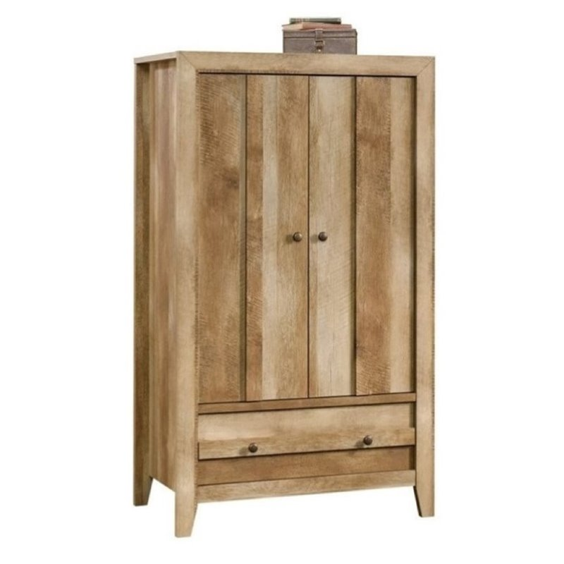 Bowery Hill Armoire in Craftsman Oak by Bowery Hill