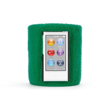 Griffin Green SportCuff Wristband case for iPod nano (7th gen.), Absorbent wristband for iPod nano (7th gen.) (Griffin Nano Case)