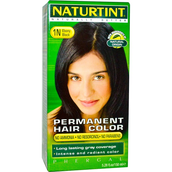 Naturtint Permanent Hair Color 1N Ebony Black