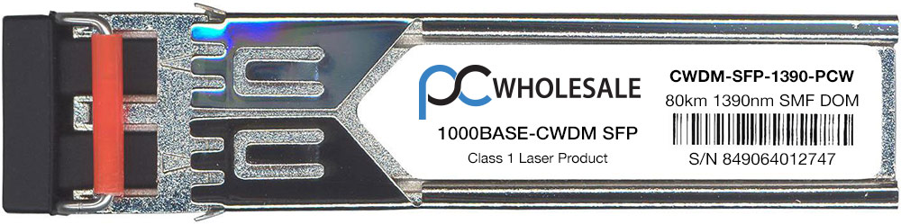 Cisco Compatible CWDM-SFP-1390 1000BASE-CWDM SFP Transceiver by Cisco