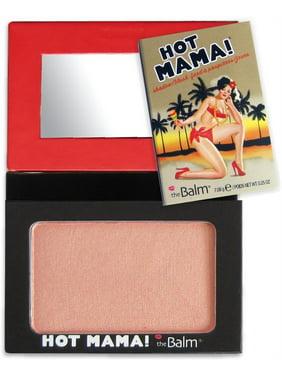 the Balm Hot Mama! Shadow/Blush - Pinky Peach 0.23 oz Shadow Blush