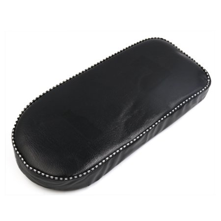 Black Faux Leather Rear Rack  Pad Cushion for Bicycle Mountain