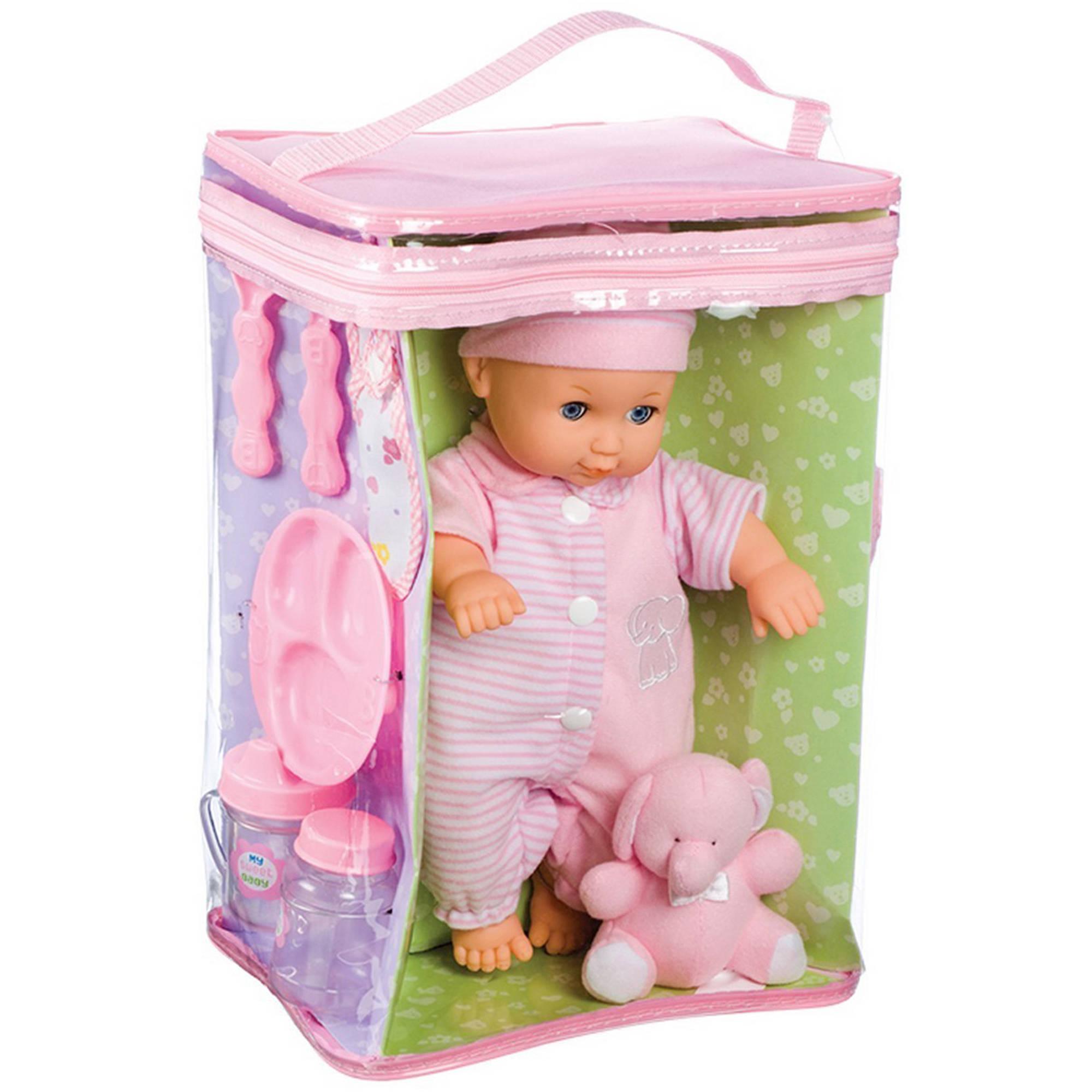 "Toysmith Deluxe Baby Ensemble 11.5"" Doll Playset"