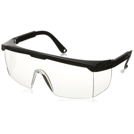 53842A Polycarbonate ANSI Z97.1 Safety Glasses, Clear Frame | 100% UV Protection, Meets industry ANSI Z87.1 standards and provides 100% UV protection for.., By Neiko