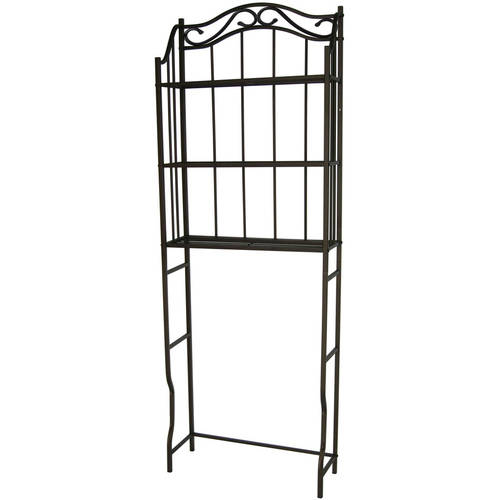 Chapter Metal Bathroom Space Saver, Oil-Rubbed Bronze
