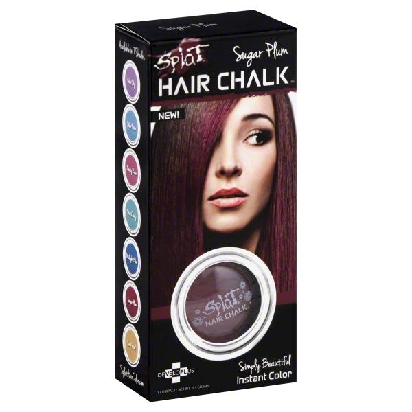 Splat Hair Chalk Sugar Plum, 3.5 G