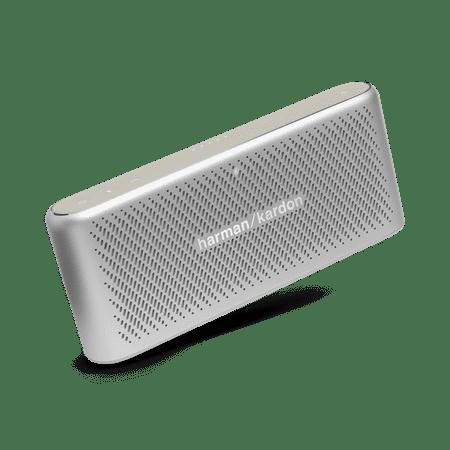 Harman Kardon Traveler Portable Speaker With Wireless Bluetooth Streaming  Silver