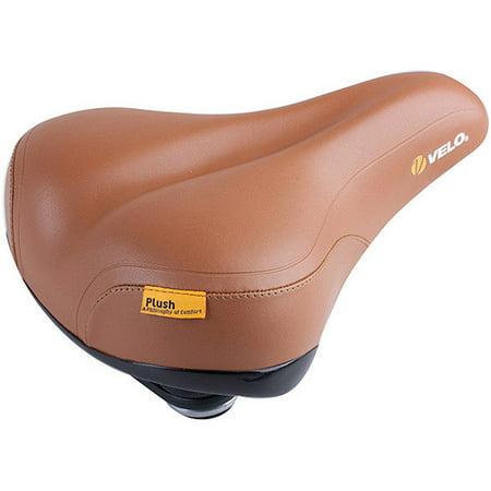 Velo Plush Leatherette Elastomer Saddle