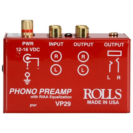 Music Hall Vp29 Phono Preamp