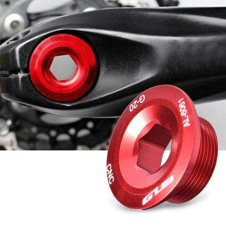 - GUB Durable Aluminum Alloy Bike Bicycle Cranket Crank Fixing Bolt Screw for Shimano, Bike Fixing Bolt, Crankset Screw