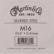 Martin Strings M16-U 0.016 Gauge Acoustic Guitar Steel Single Strings