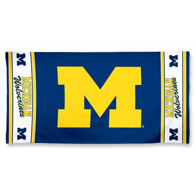 Michigan Wolverines Beach Towel