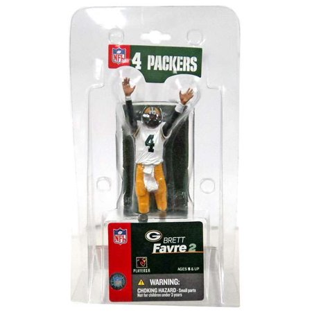 McFarlane NFL Sports Picks 3 Inch Mini Brett Favre Mini Figure [White Jersey]