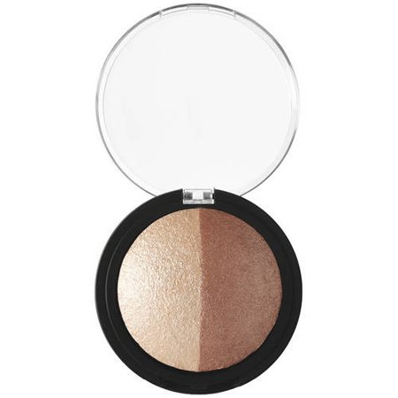 e.l.f. Baked Highlighter & Bronzer Bronzed Glow, .183 oz