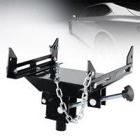 Hilitand Transmission Jack, Car Transmission Jack Adapter,0.5 Ton Car Adjustable Floor Jack Transmission Jack Adapter Capacity Transform