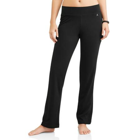 danskin women's athleisure sleek fit crop yoga pants