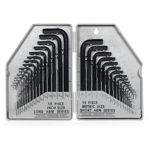 30-Piece Allen Wrench Set