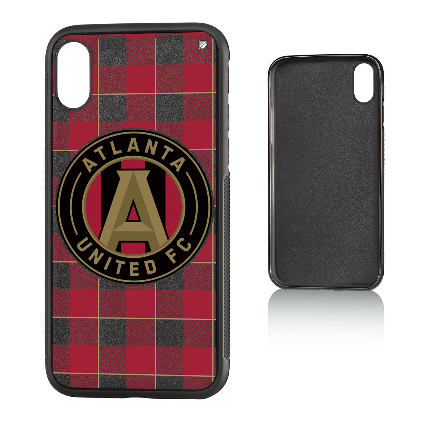 Atlanta United FC ATLUTD Plaid Bump Case for iPhone X