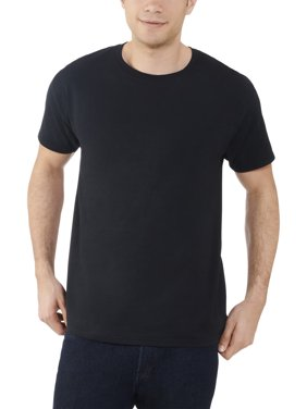 Fruit of the Loom Men's and Big Men's Dual Defense UPF Short Sleeve Crew T Shirt, Up To Size 4X