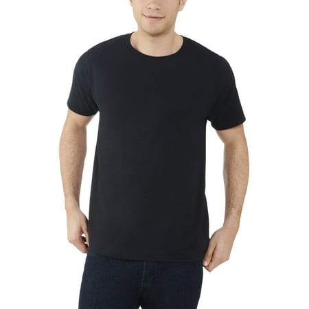 Fruit of the Loom Men's and Big Men's Dual Defense UPF Crew T Shirt, Up To Size 4X