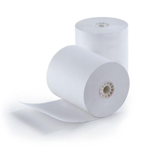 """Paper Rolls 3.13"""" x 200' 1-Ply Thermal Rolls - 50/Box ZT8200"""