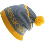 Sessions Double Agent Beanie Yellow Mens