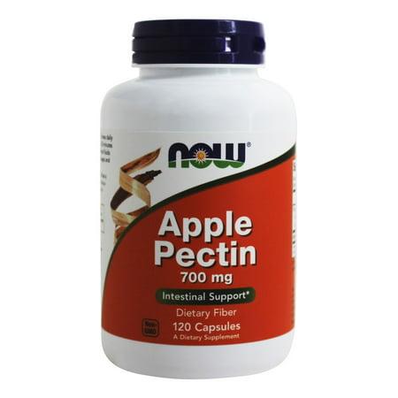 NOW Foods - Apple Pectin 700 mg. - 120 Capsules