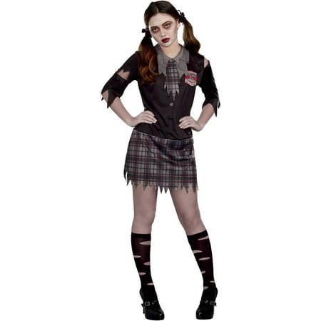 high school horror teen girls halloween costume medium