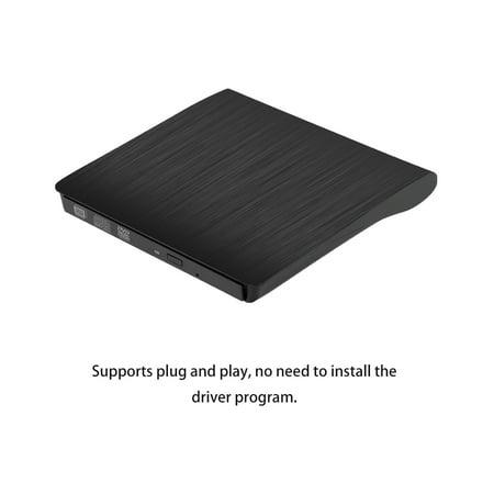 USB Pop-up Mobile External DVD-RW Portable Drive ODD External DVD Drive ROM Player Writer for Windows Linux Mac 9.5MM Plug & Play - image 4 of 7
