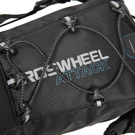 ROSWHEEL Waterproof Bike Bag Bicycle Saddle Bag Pannier Cycling MTB Mountain Road Bike Tail Seat Bag Adjustable 3L-10L - image 3 of 7