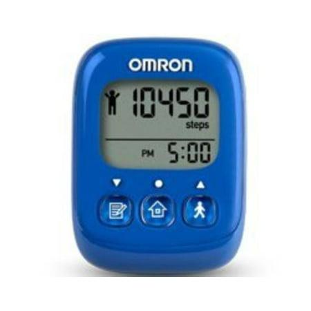 Omron HJ325 Alvita Ultimate Pedometer, Blue